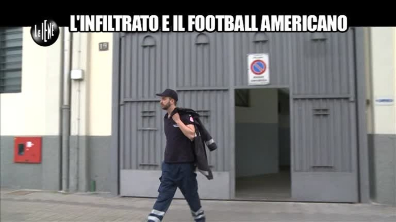 CORTI: L'infiltrato e il football americano