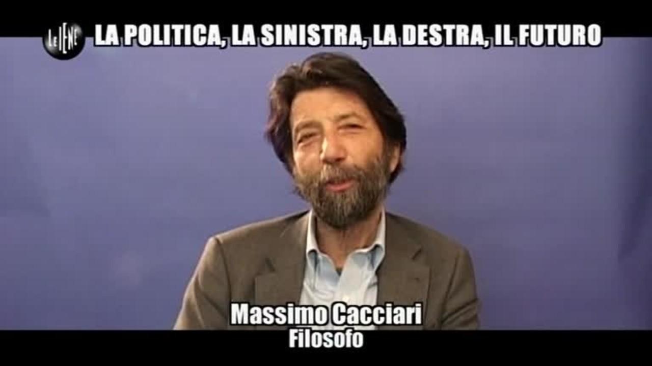 LUCCI: Massimo Cacciari