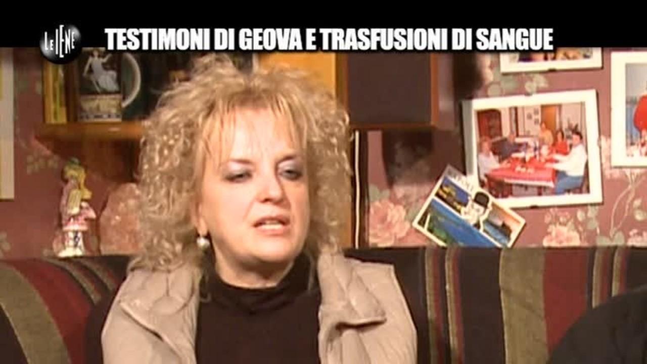PELAZZA: Testimoni di Geova e trasfusioni