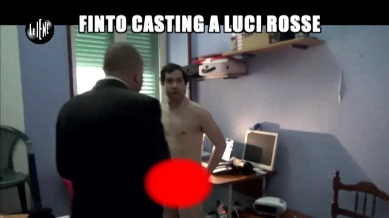 GOLIA: Finto casting a luci rosse