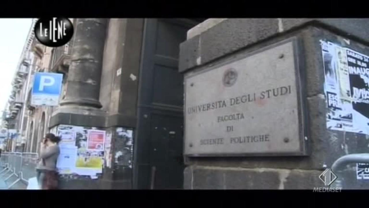 VIVIANI: Sesso e ricatti all'Università