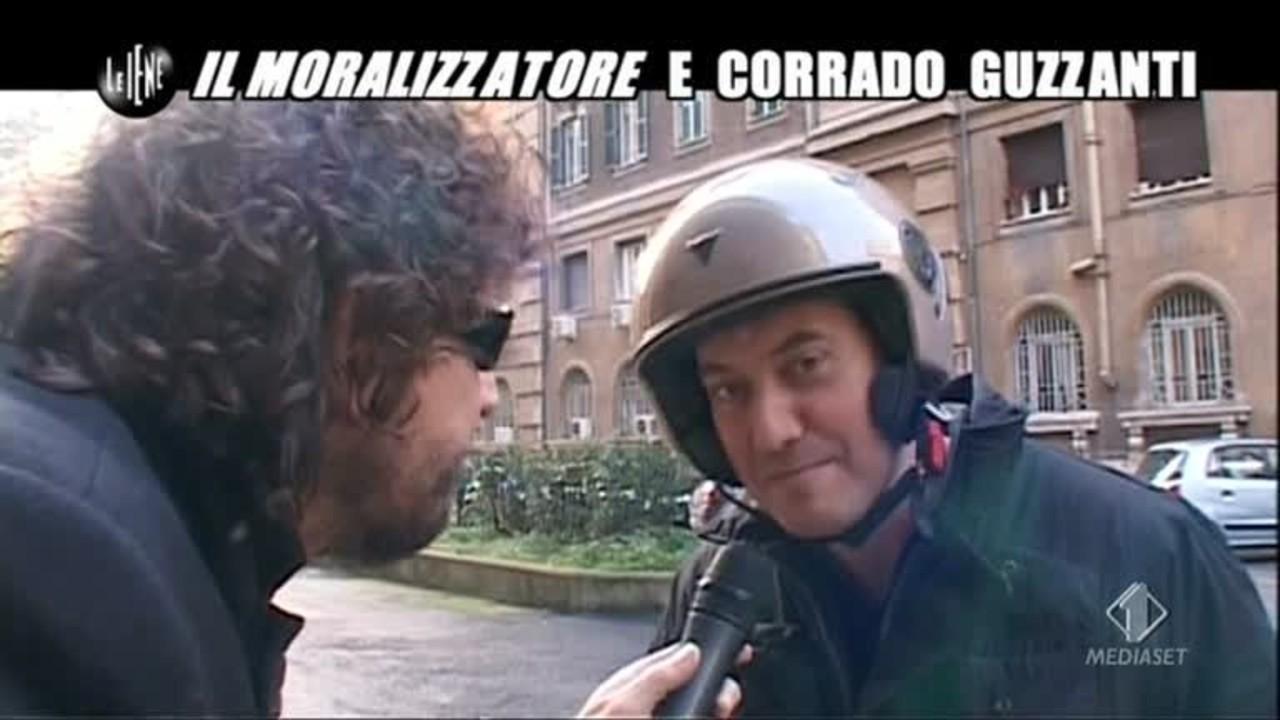 ROMA: Corrado Guzzanti e il Moralizzatore