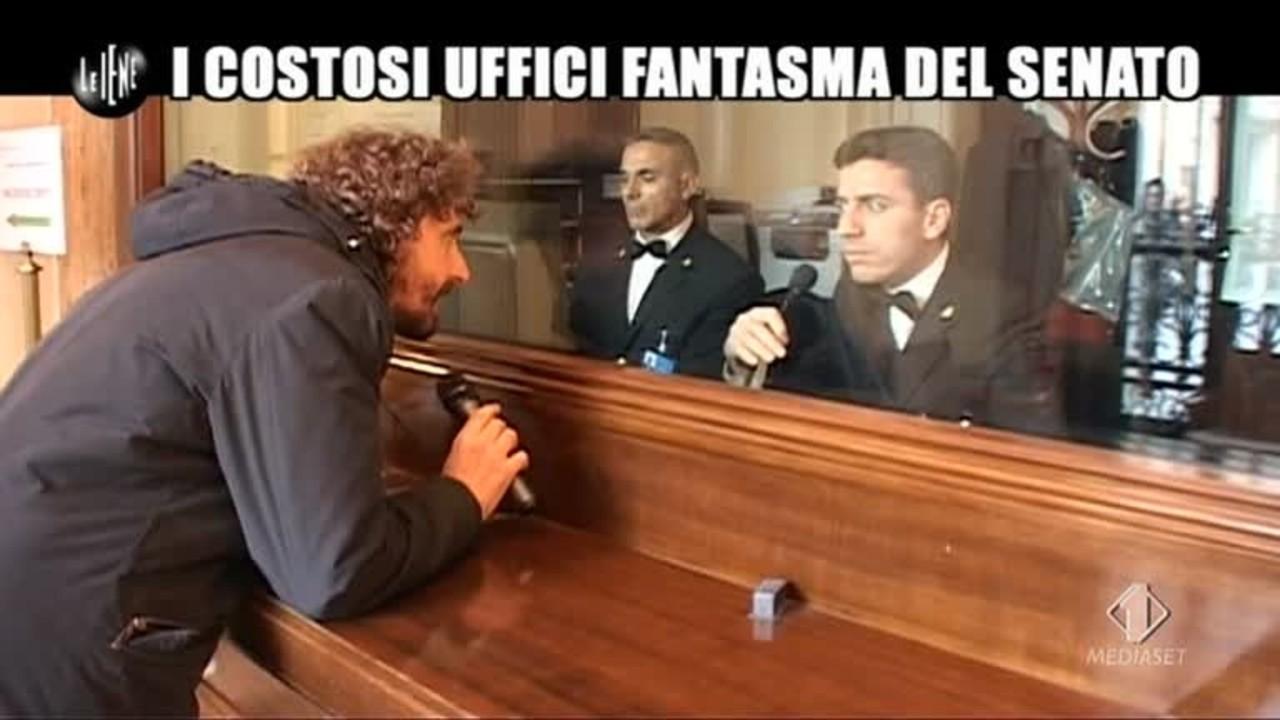 ROMA: Uffici fantasma del Senato