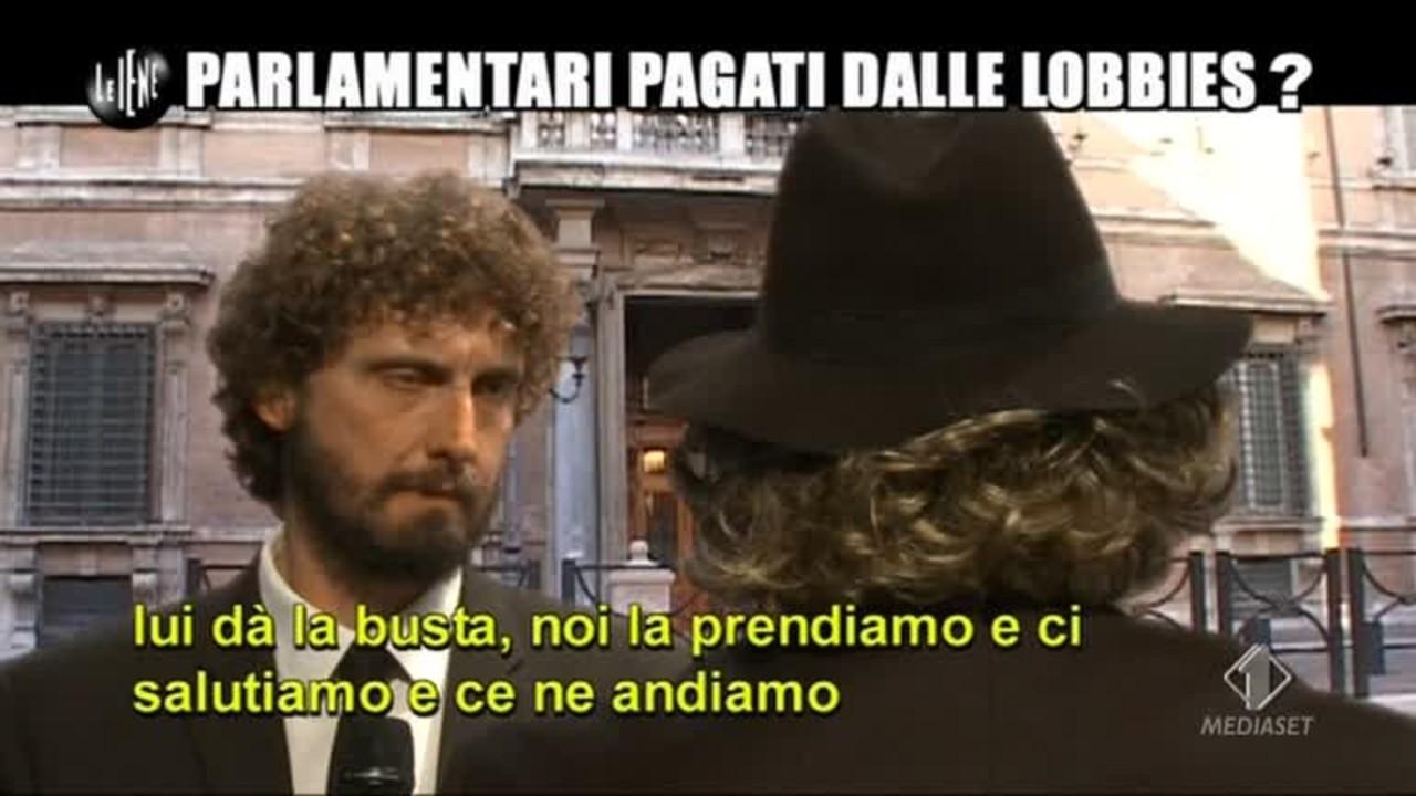 ROMA: Parlamentari pagati dalle lobbies?