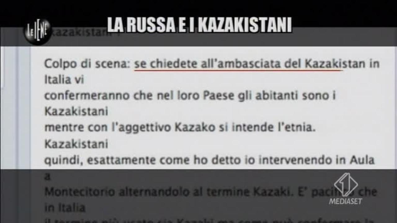 CALABRESI: La Russa e i Kazakistani