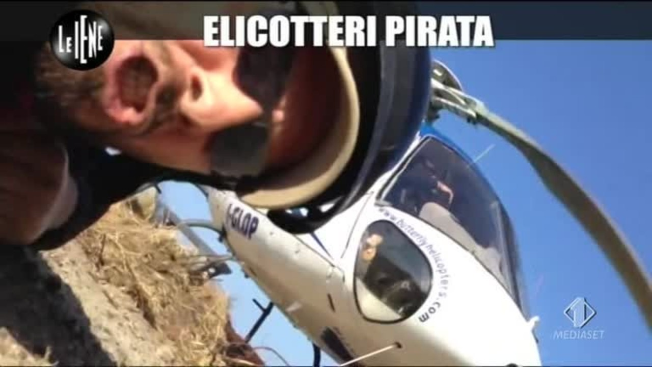 Elicottero 007 : Elicotteri pirata le iene
