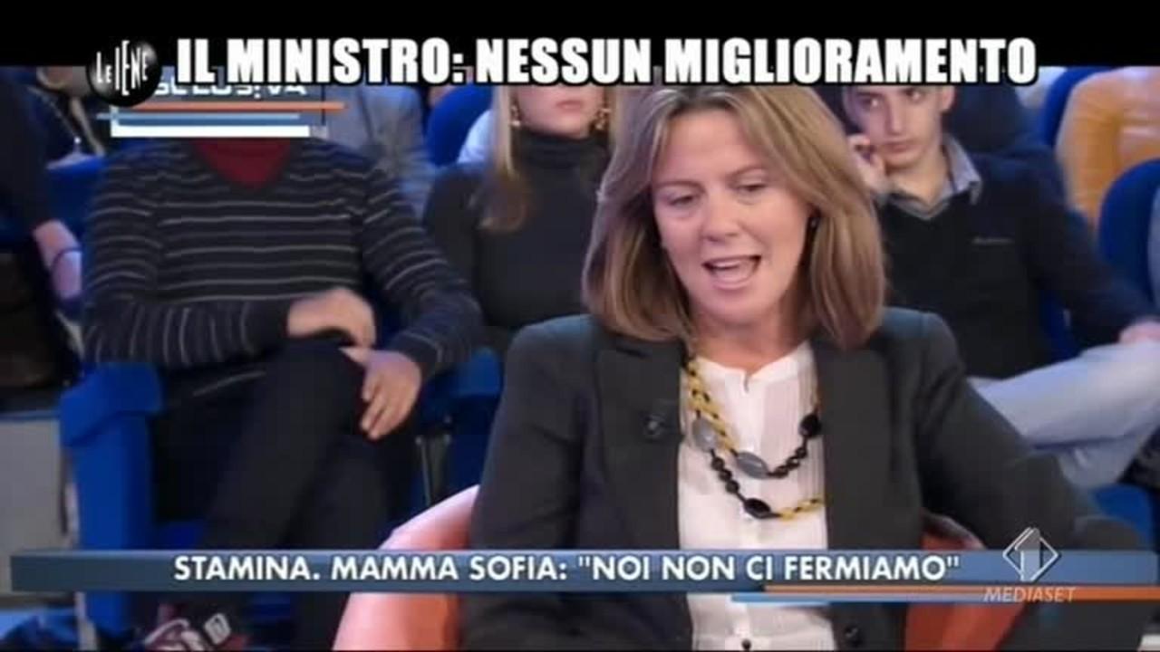 GOLIA: Il Ministro: nessun miglioramento
