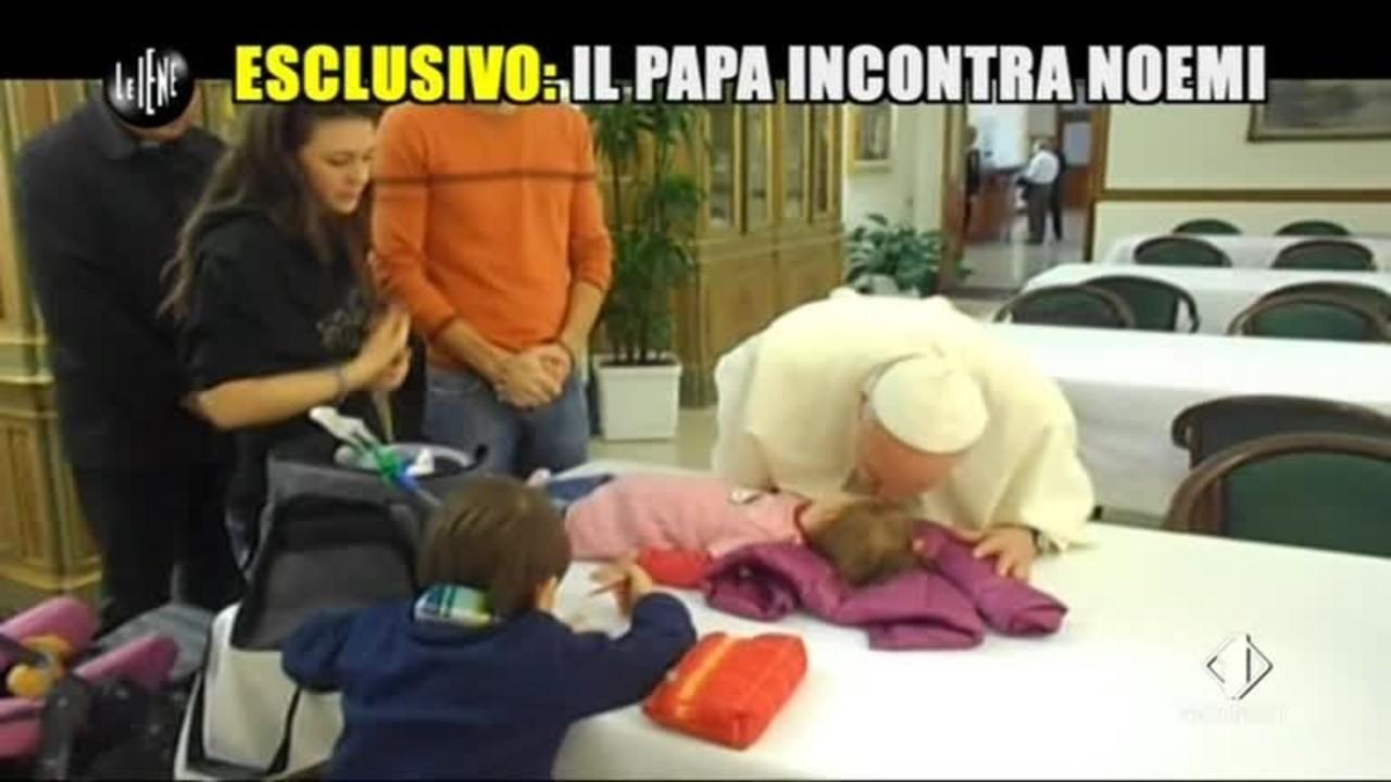 GOLIA: Esclusiva: Il papa incontra Noemi