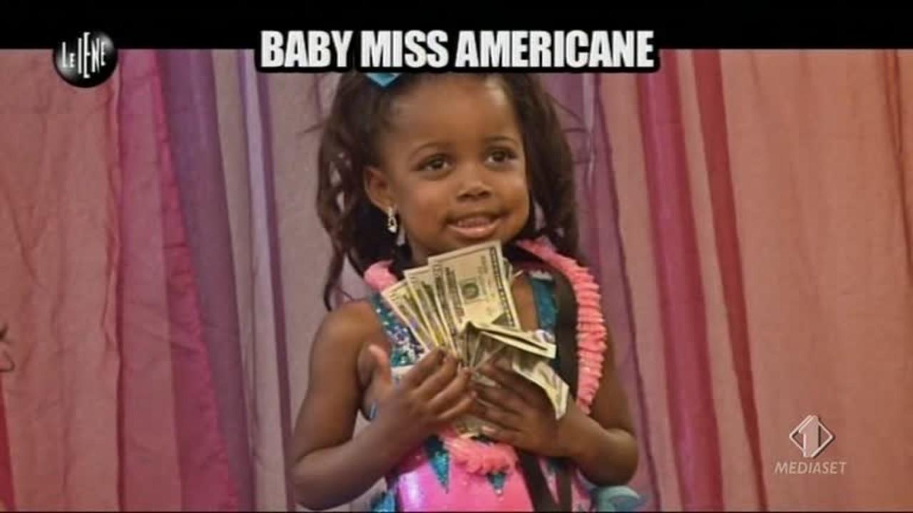 TRINCIA: Baby Miss Americane