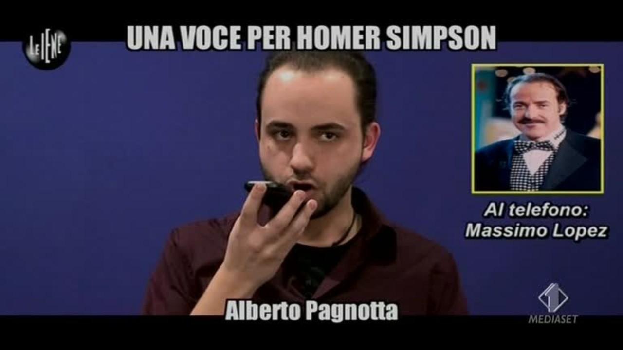 TROMBETTA: Una voce per Homer Simpson