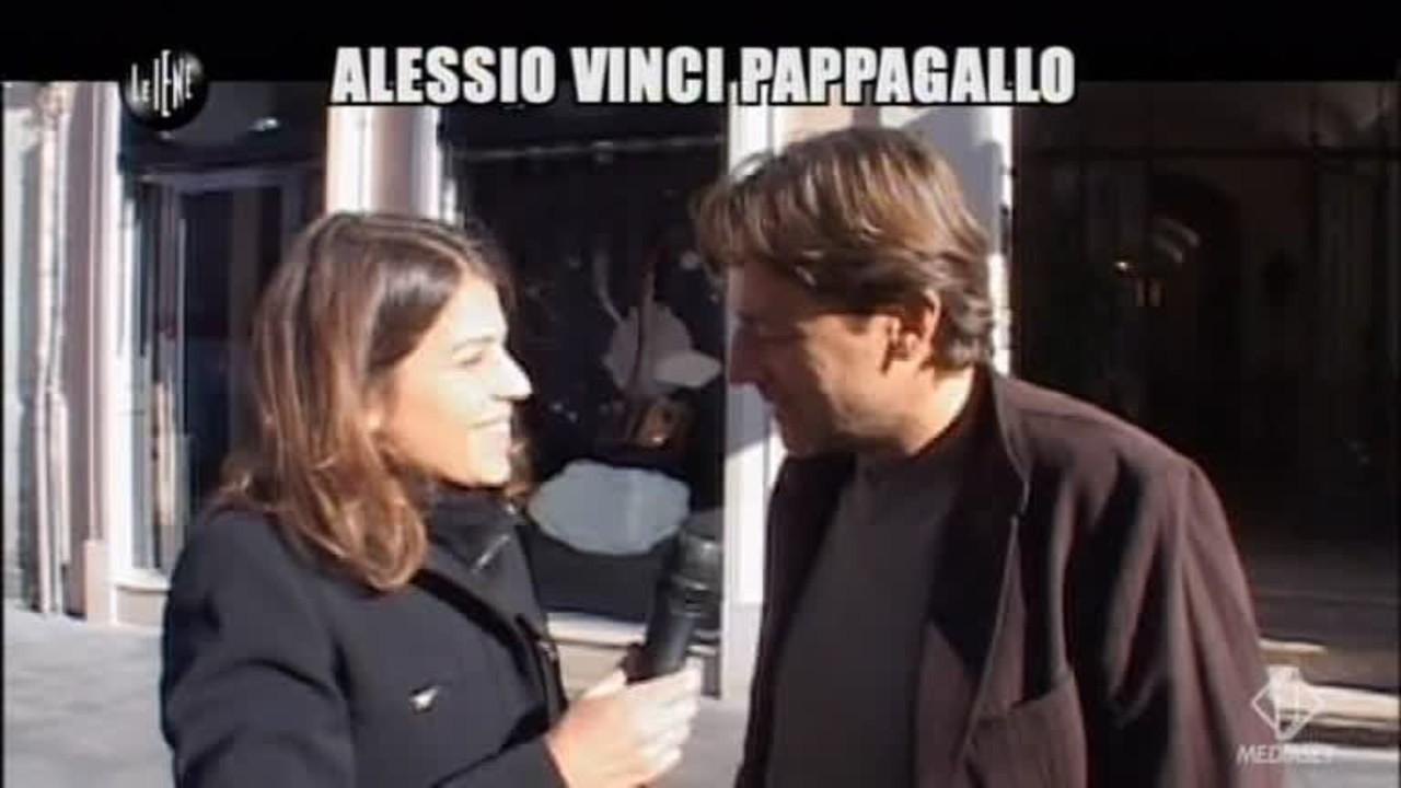 NOBILE: Alessio Vinci pappagallo