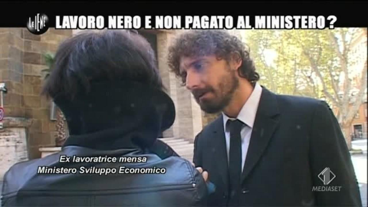 ROMA: Lavoro nero e non pagato al ministero?