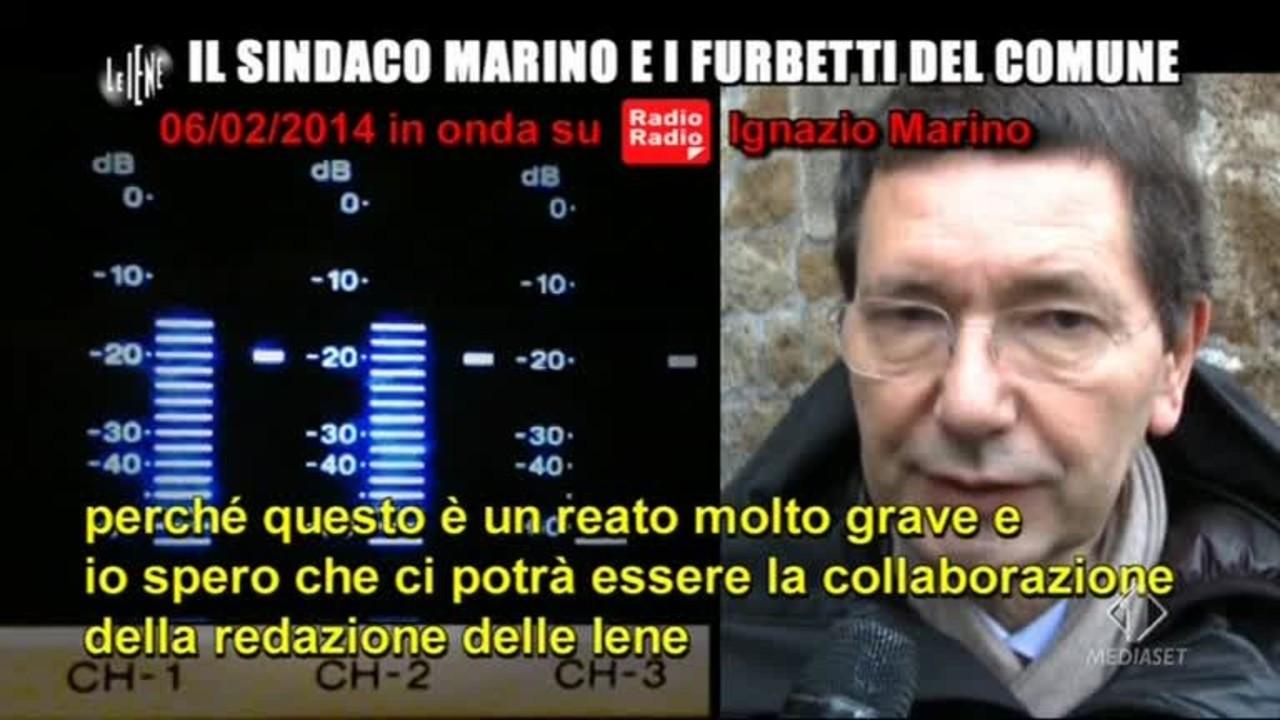 ROMA: Ignazio Marino e i furbetti del comune