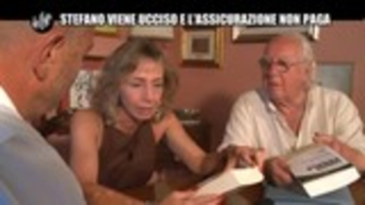 GOLIA: Stefano viene ucciso e l'assicurazione non paga
