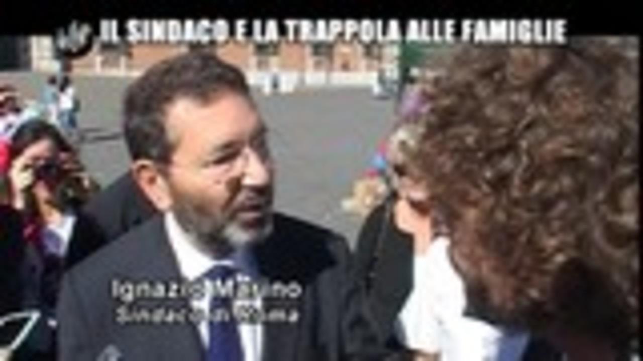 ROMA: Il sindaco e la trappola alle famiglie
