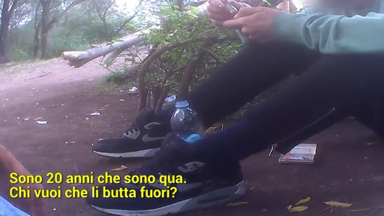 Elicottero Milano : Maxi blitz nel bosco delleroina di milano raccontato da le iene