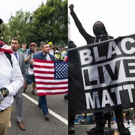 Washington cortei suprematisti bianchi antirazzisti Charlottesville anniversario America polizia Usa razzista Nadia Toffa