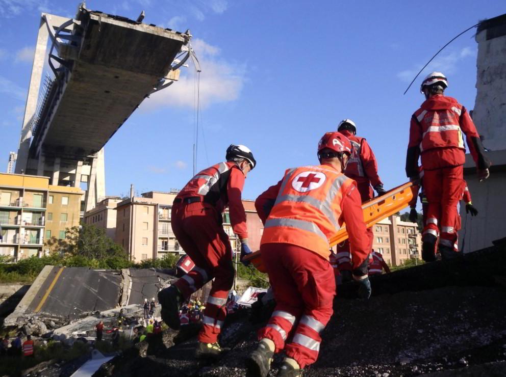 """Genova: """"La rottura di uno dei cavi del ponte è un'ipotesi seria"""""""