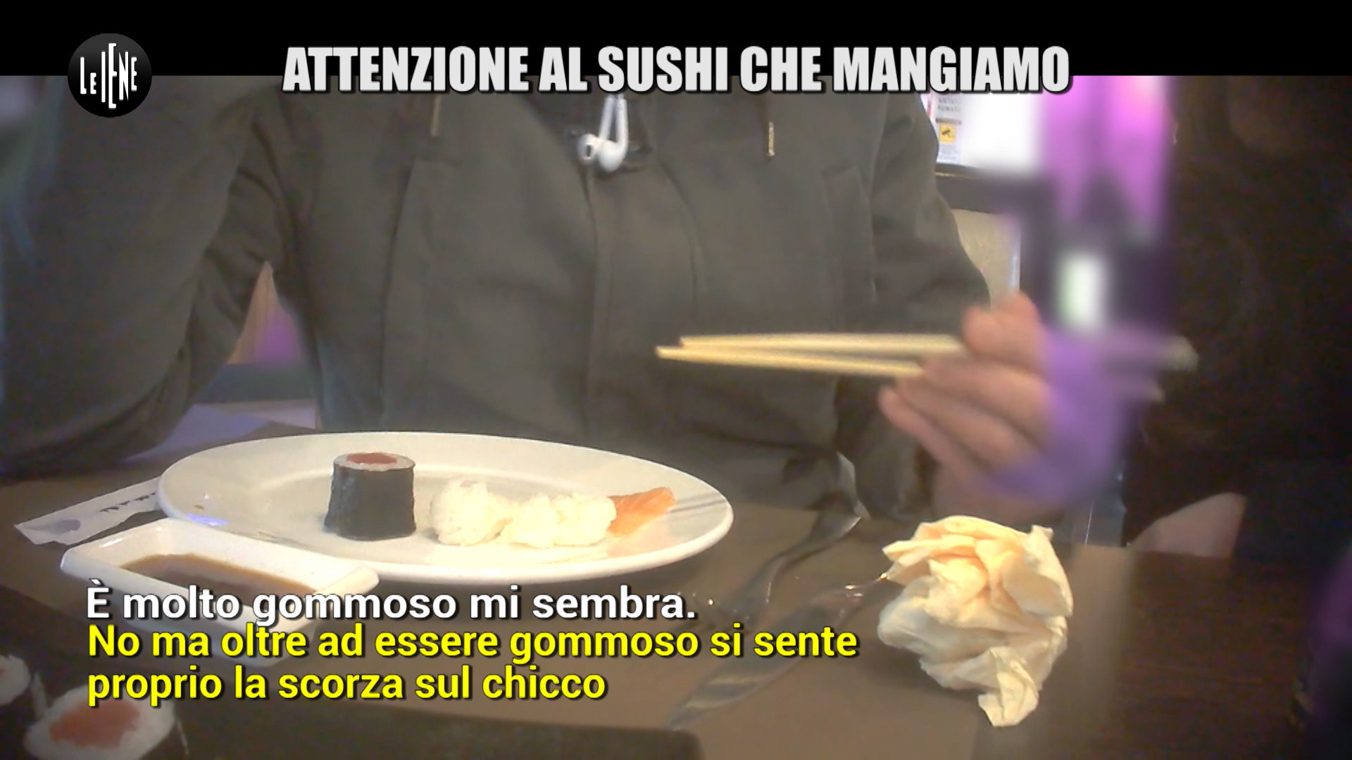 Attenzione al sushi che mangiamo negli all you can eat