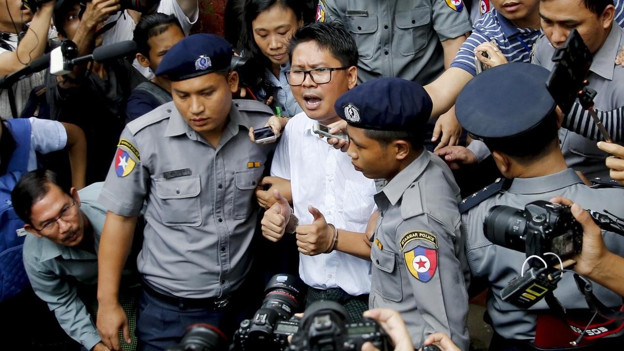Massacro dei Rohingya, condannati due giornalisti