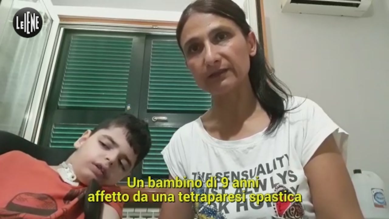appello liberato disabilità mamma video