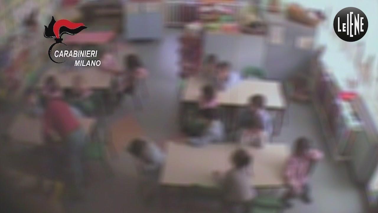 Telecamere di videosorveglianza contro i maltrattamenti in asilo