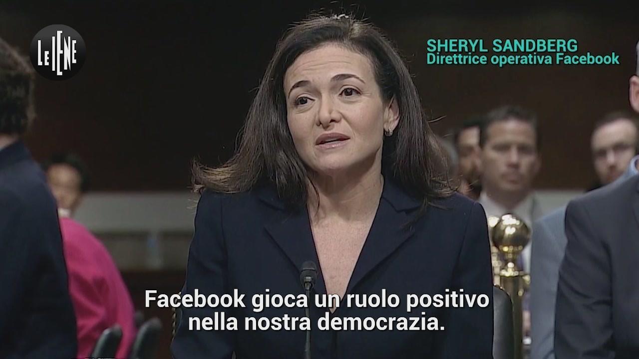 mea culpa di Facebook  Twitter Congresso degli Stati Uniti