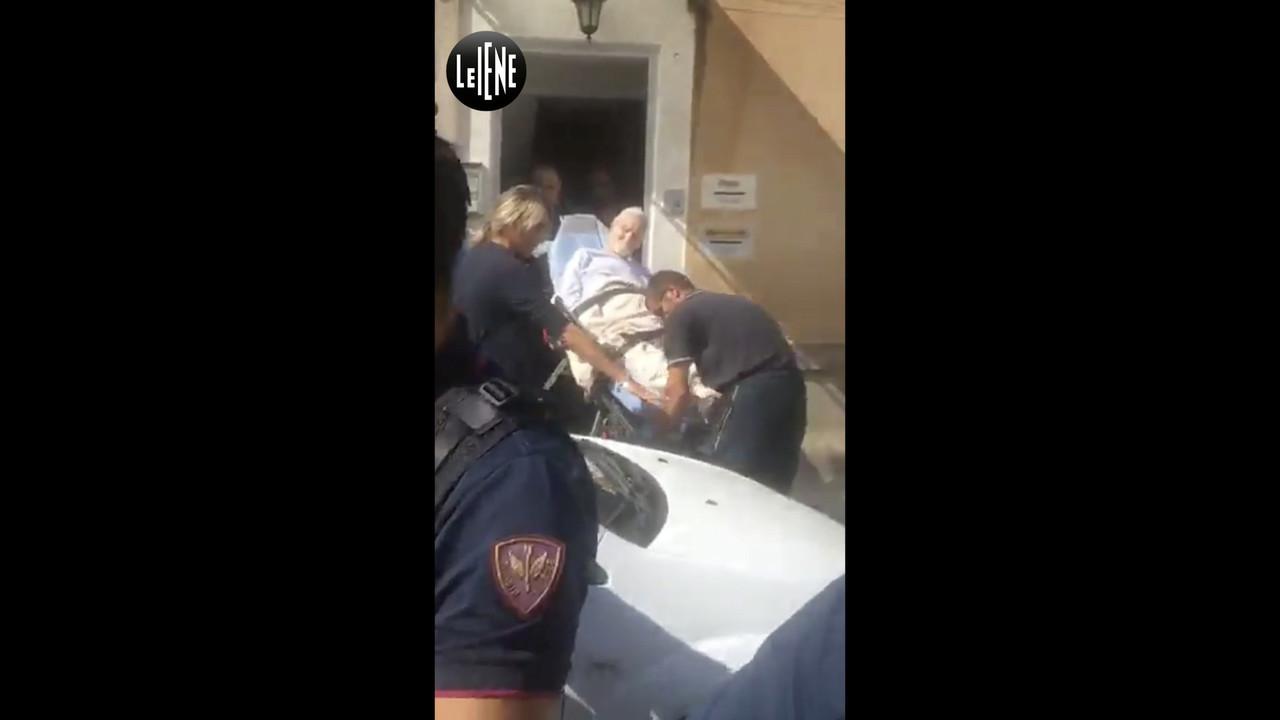 Mariano nonno sfratto strattato casa 90 anni gravemente malato Palermo