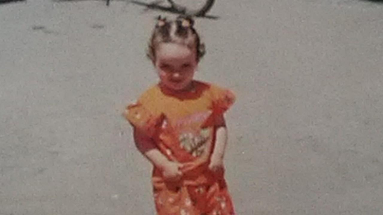 Le foto di Annamaria da piccola
