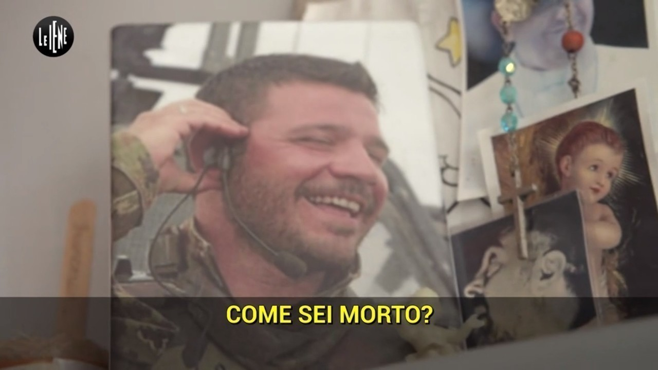 militare morto Francesco Positano mistero mamma