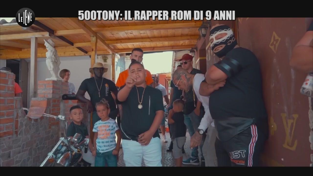 500Tony rapper rom studio no scuola no intervista esclusiva