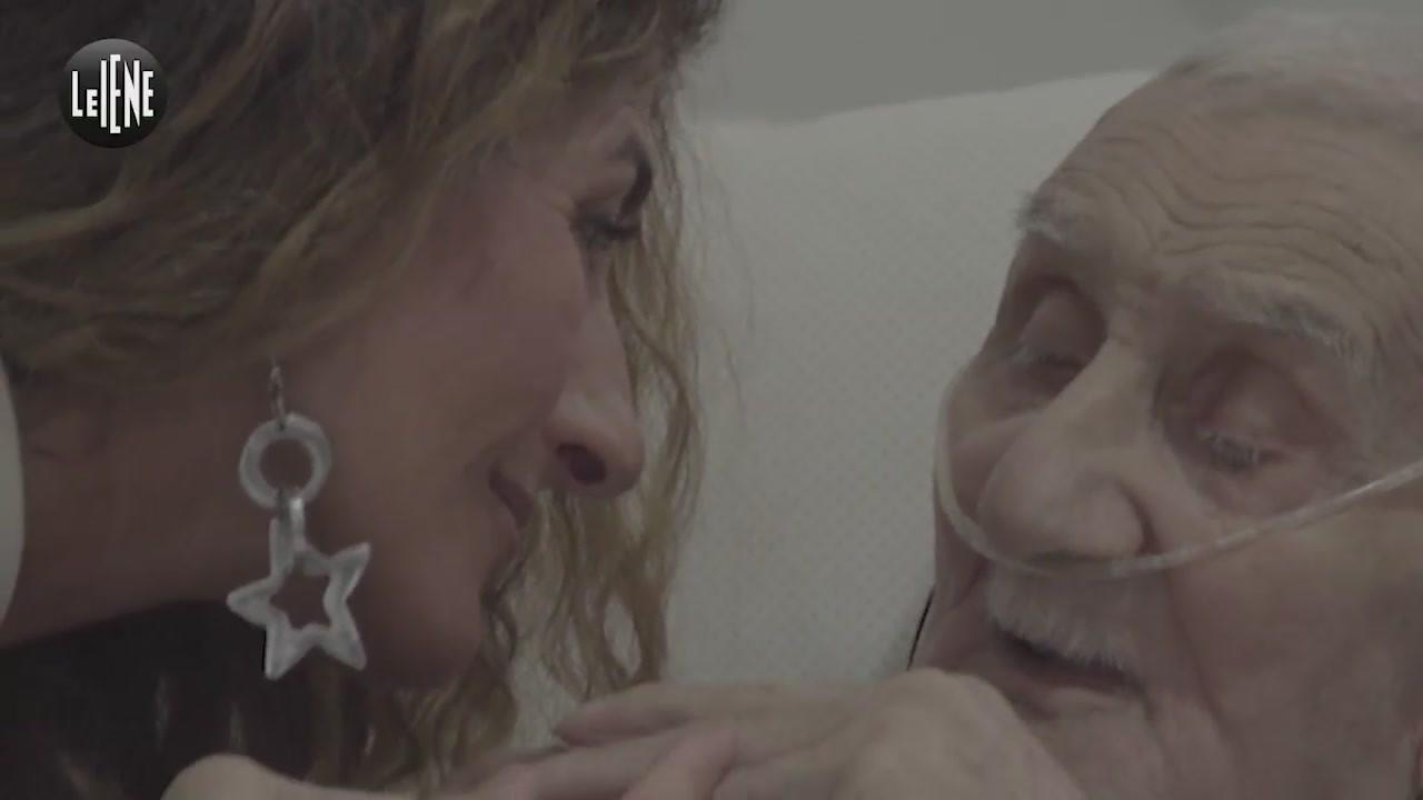 Mariano nonno sfratto casa 90 anni malato Palermo incontro Nina