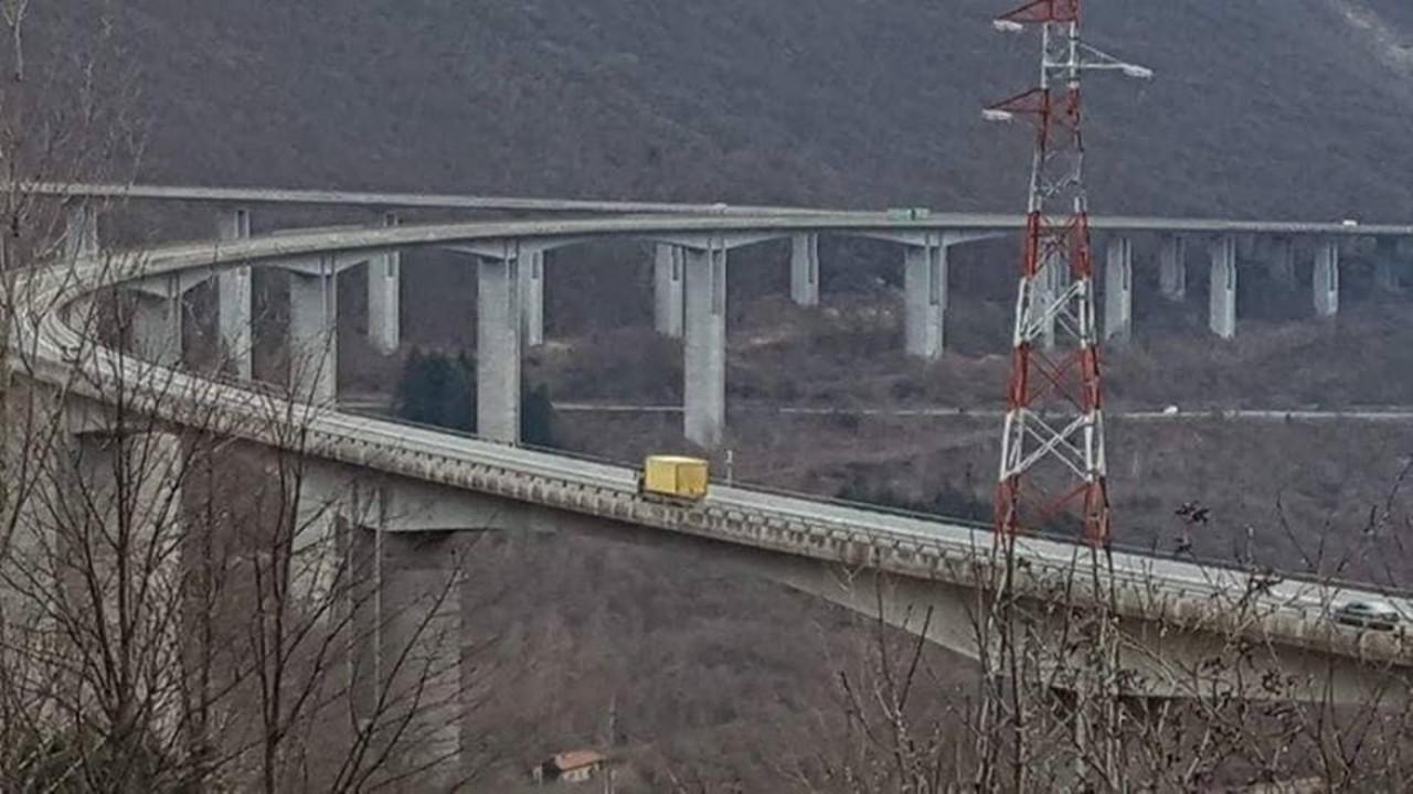 Il Ponte che dal Fadalto porta verso Vittorio Veneto aull'A27: foto