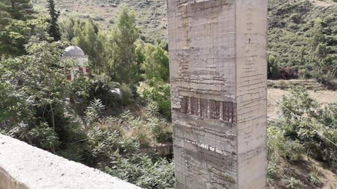 ponte strada statale Sciacca Palermo Portella della Paglia foto
