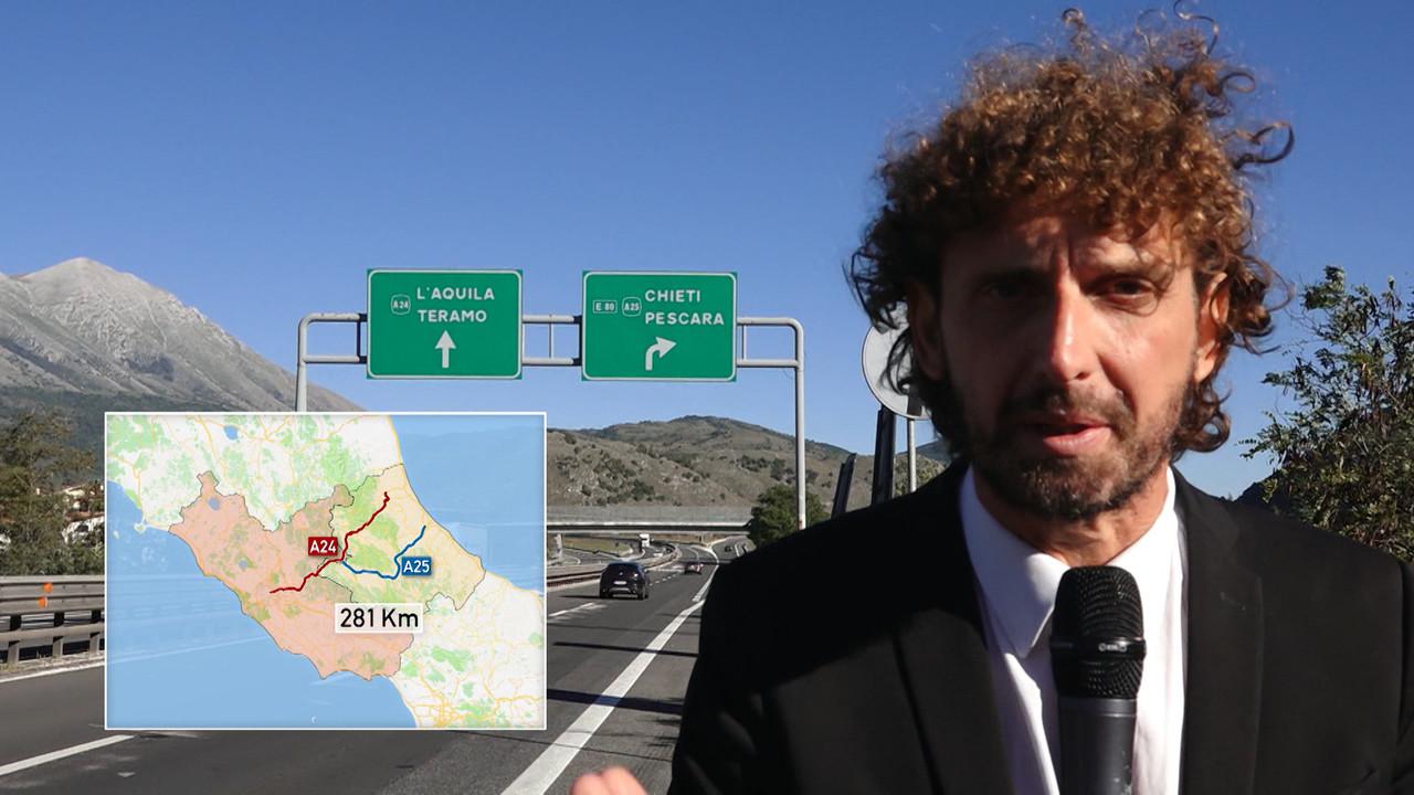 I ponti delle autostrade A24/A25 a rischio crollo?