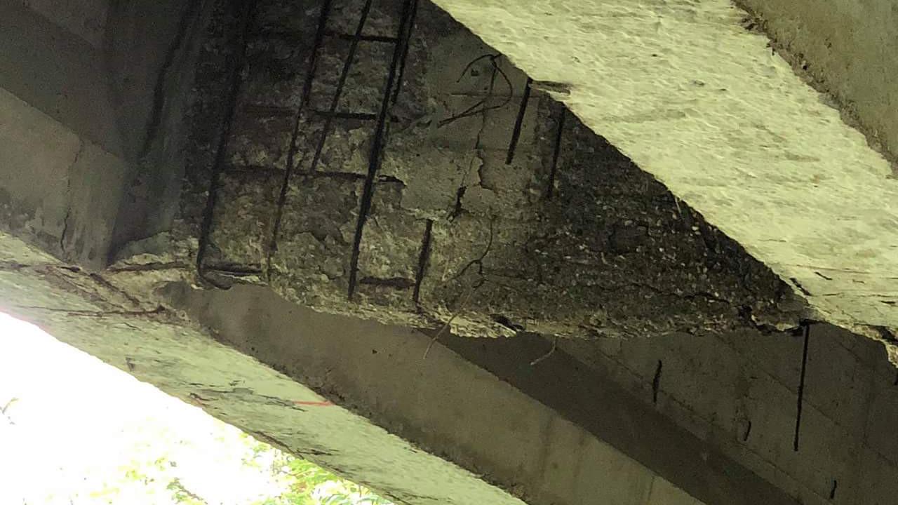 Ariano Irpino Avellino ponti strade autostrade rischio pericoli foto seconda segnalazione