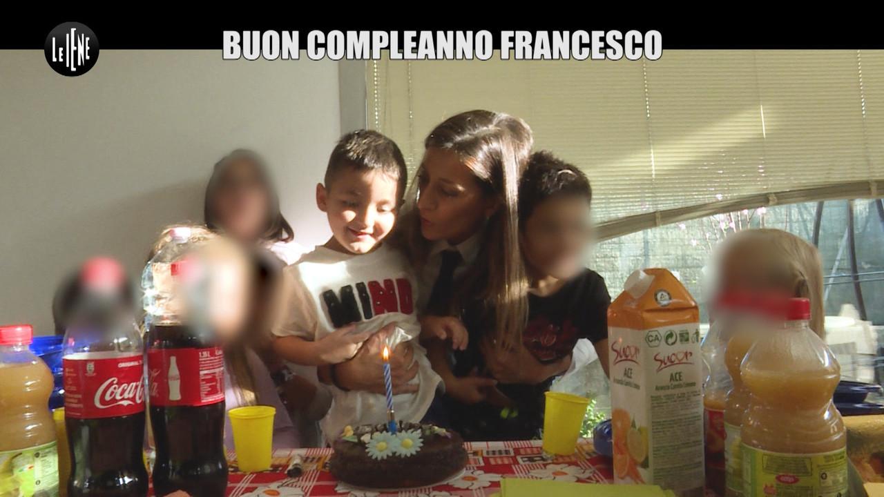 francesco bambino autistico festa compleanno