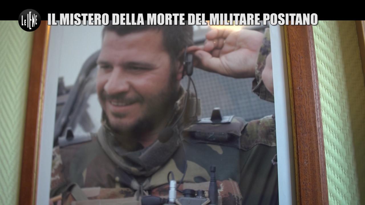 Afghanistan militare morto francesco positano