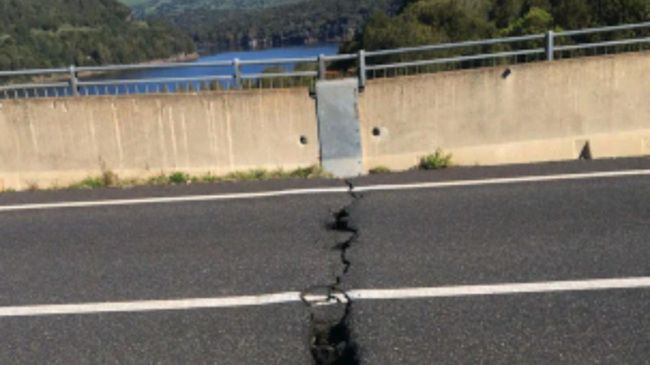 Ponte Santa Chiara Ula Tirso Oristano ponti strade autostrade rischio pericoli foto