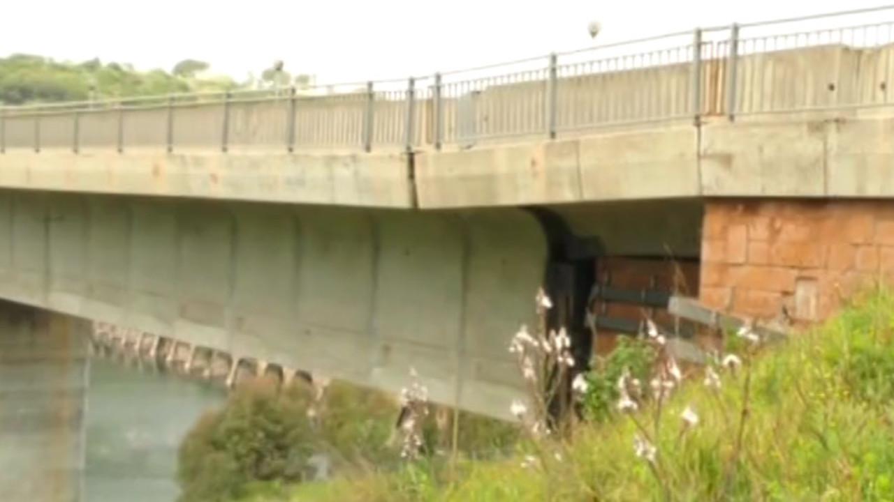 Ponti a rischio, Ponte di Santa Chiara - Ula Tirso (Oristano): le foto