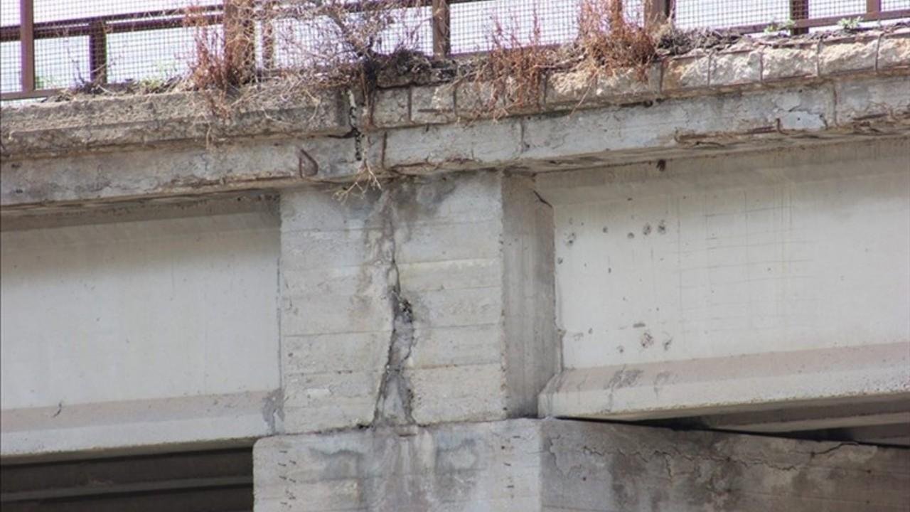 Ponti a rischio, Ponte di Via Castel del Monte a Corato (Bari): le foto