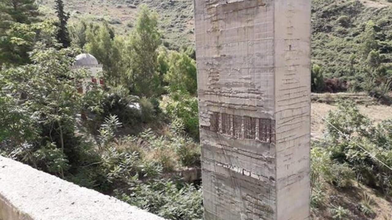 Strada statale Sciacca-Palermo a Portella della Paglia: foto