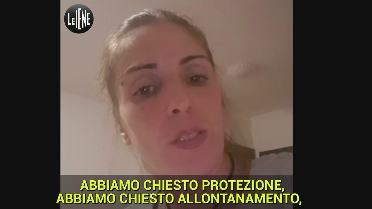 violenza donne picchiata ex marito appello Rosalia Cusimano video