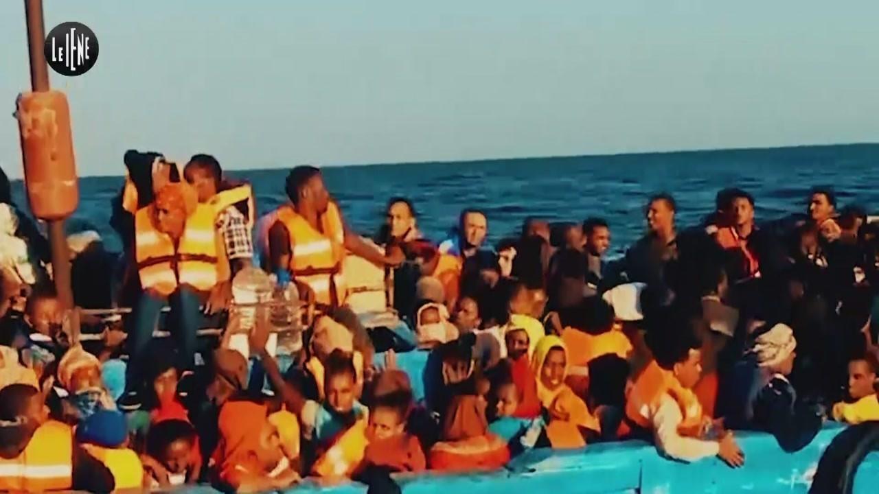 migranti veri numeri rimpatrio volontario assistito sbarchi Italia video