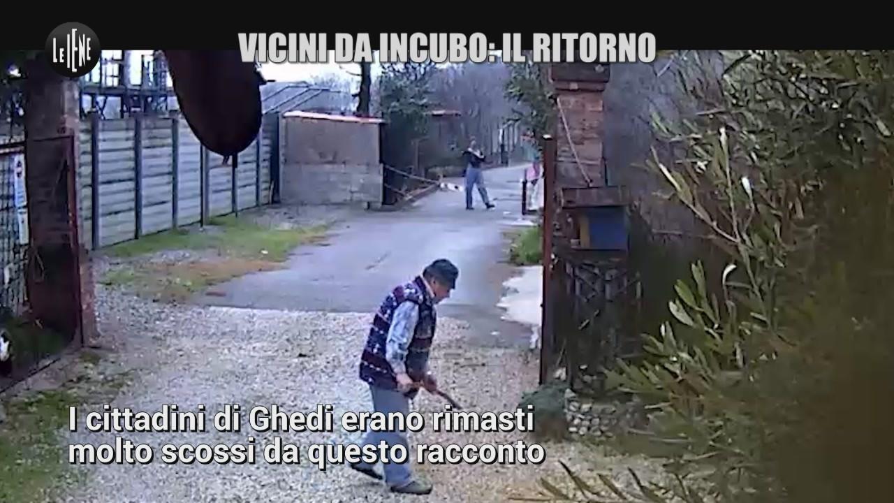 vicini da incubo Ghedi Brescia nuovo servizio video
