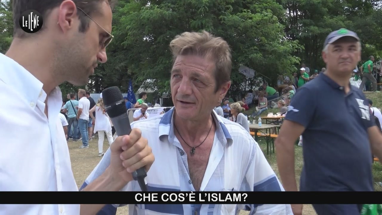 Islam Lega Salvini Corano Bibbia Pontida islamofobia esperimento sociale video