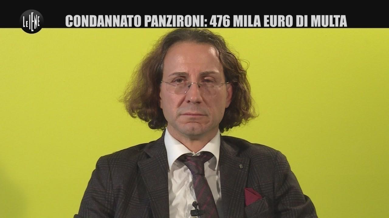 AGRESTI Panzironi, multa da mezzo milione