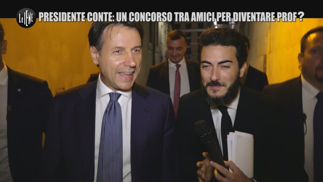 premier Giuseppe Conte concorso universitario commissario amico Alpa nuove rivelazioni video