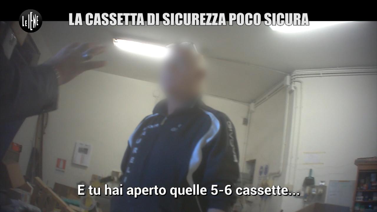 PELAZZA Cassette sicurezza banca
