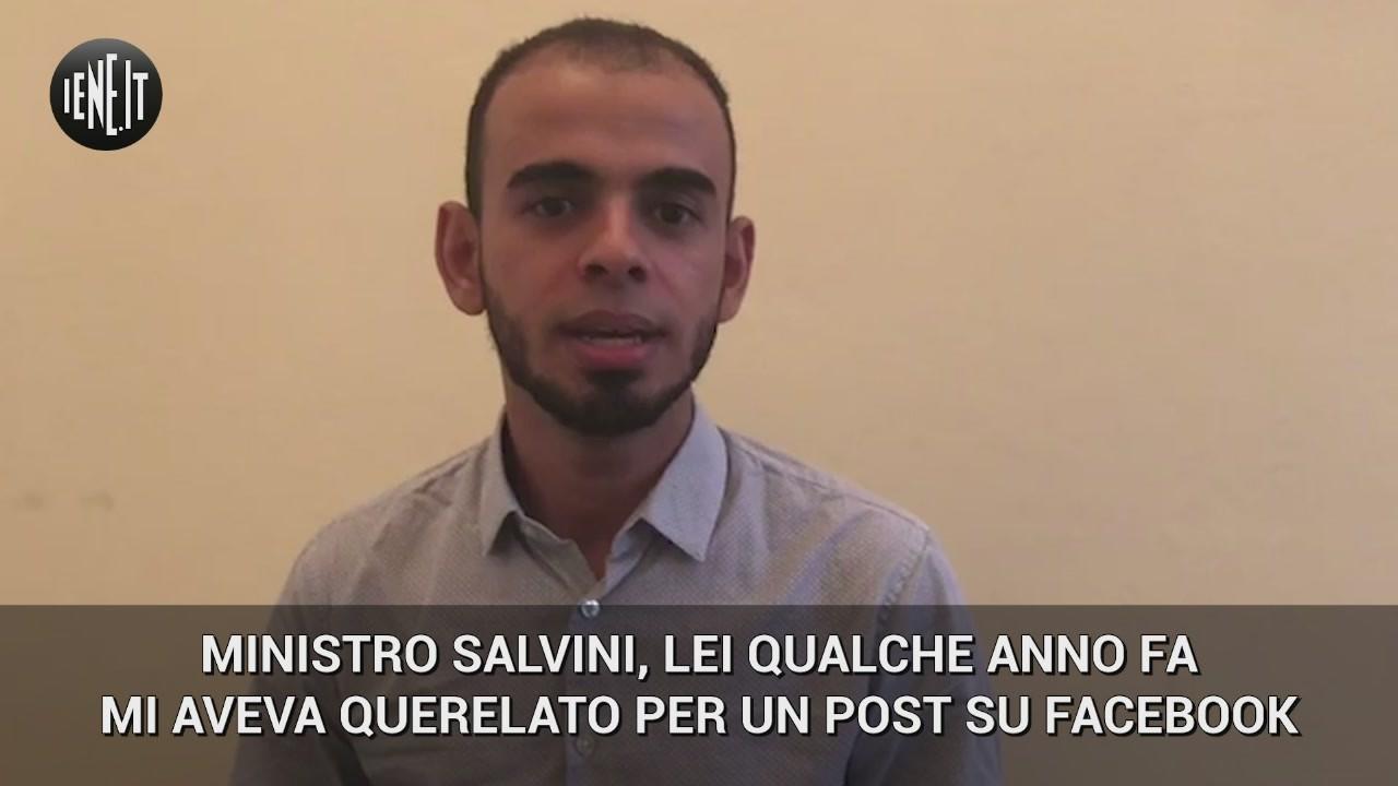Salvini Soufiane Malouni blogger marocchino querela Hitler video